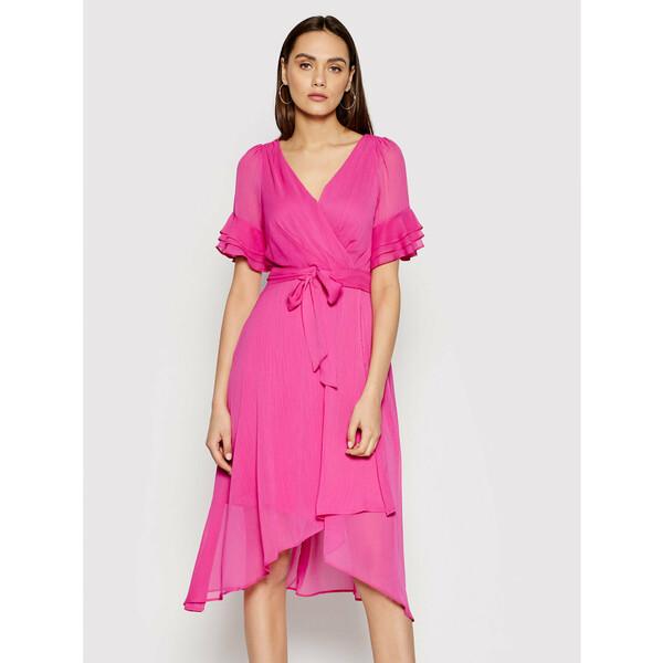 DKNY Sukienka codzienna DD1AI335 Różowy Regular Fit
