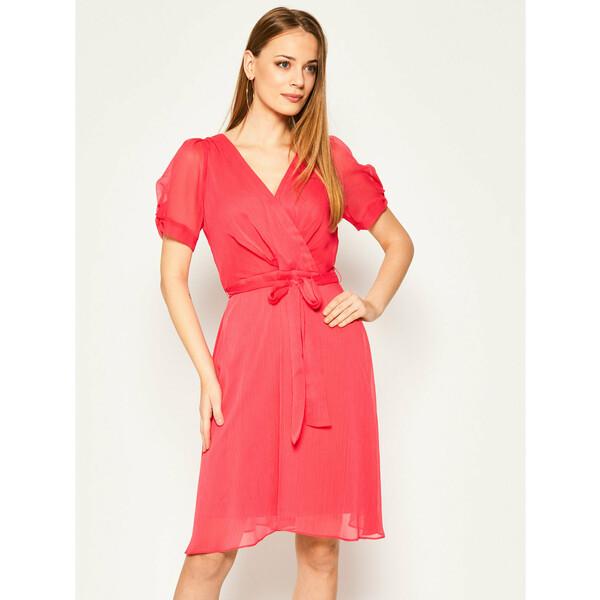 DKNY Sukienka koktajlowa DD0AI722 Różowy Regular Fit