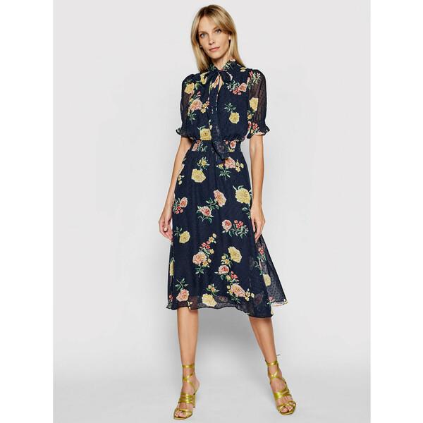 DKNY Sukienka codzienna DD1B3351 Granatowy Regular Fit