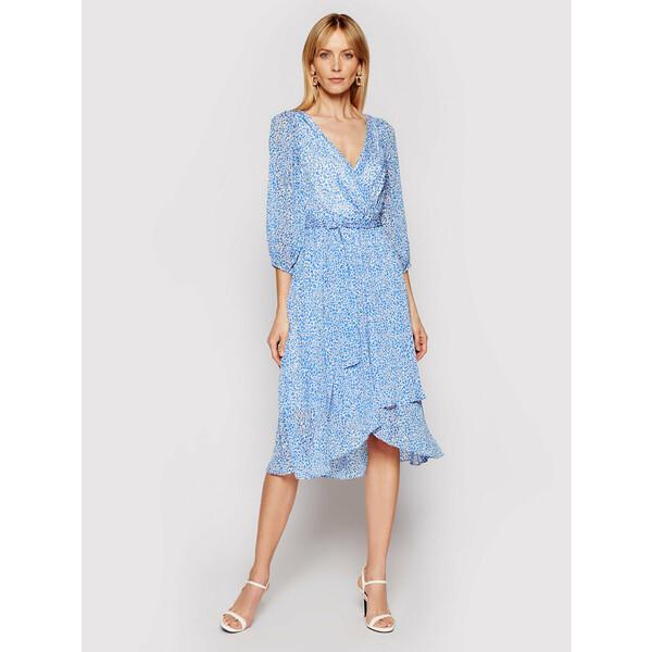 DKNY Sukienka koktajlowa DD0D3570 Niebieski Regular Fit