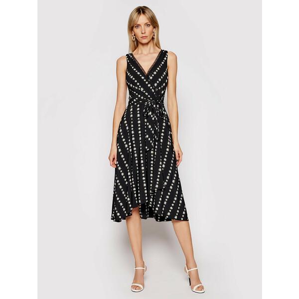 DKNY Sukienka koktajlowa DD0D2576 Czarny Regular Fit