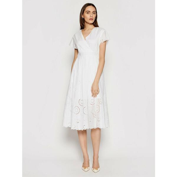 MAX&Co. Sukienka letnia Ode 62210621 Biały Regular Fit