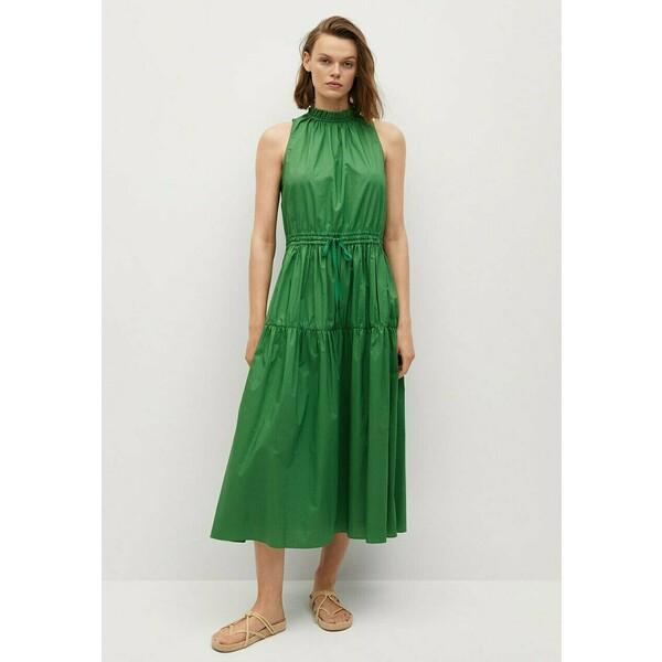 Mango Sukienka letnia grønn M9121C541