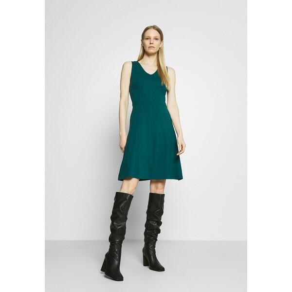 Anna Field Sukienka z dżerseju teal AN621C1LX