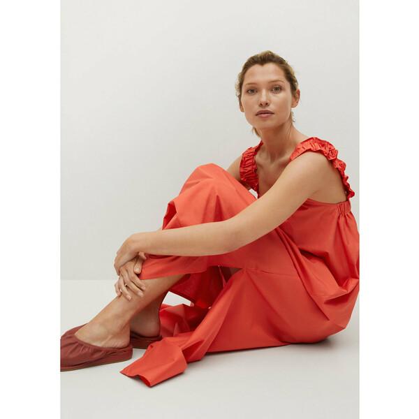Mango Sukienka letnia Delos 17040199 Pomarańczowy Relaxed Fit