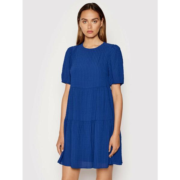 DKNY Sukienka codzienna DD1EM711 Niebieski Regular Fit