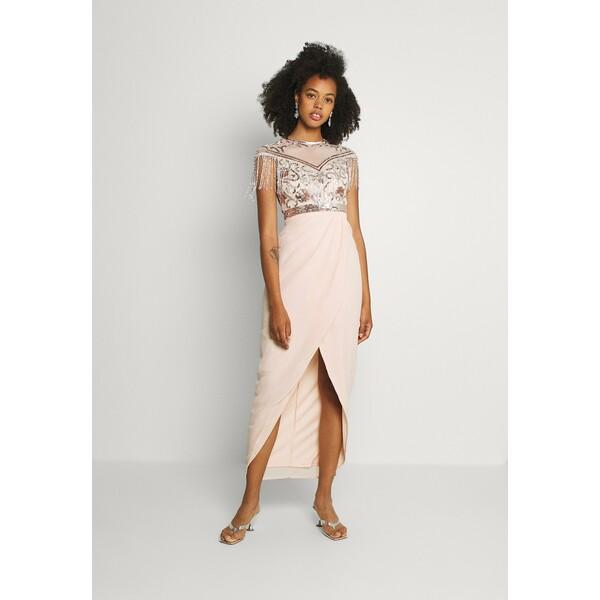 Lace & Beads SAVANNAH Suknia balowa nude/silver LS721C0FU