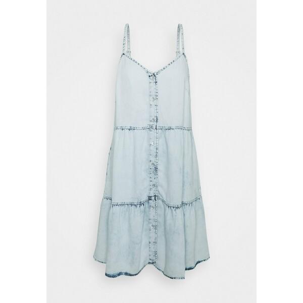 GAP Sukienka jeansowa light wash GP021C0JO