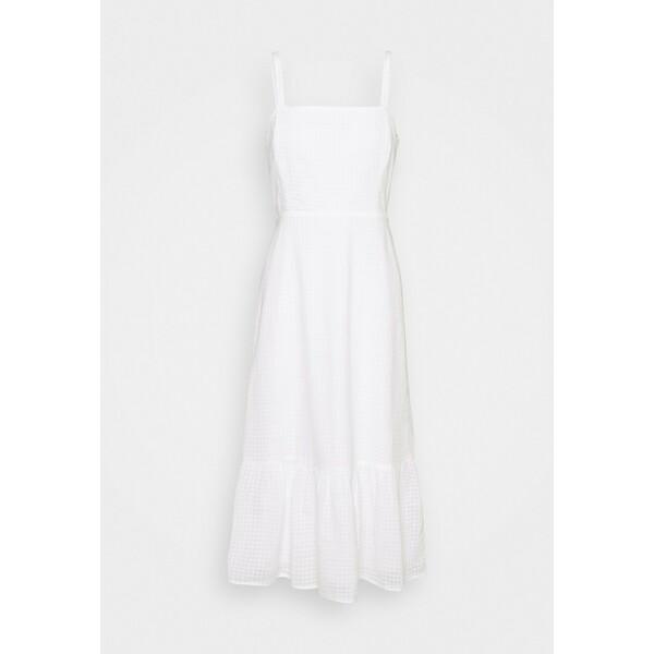 GAP MIDI DRESS Sukienka letnia fresh white GP021C0JG