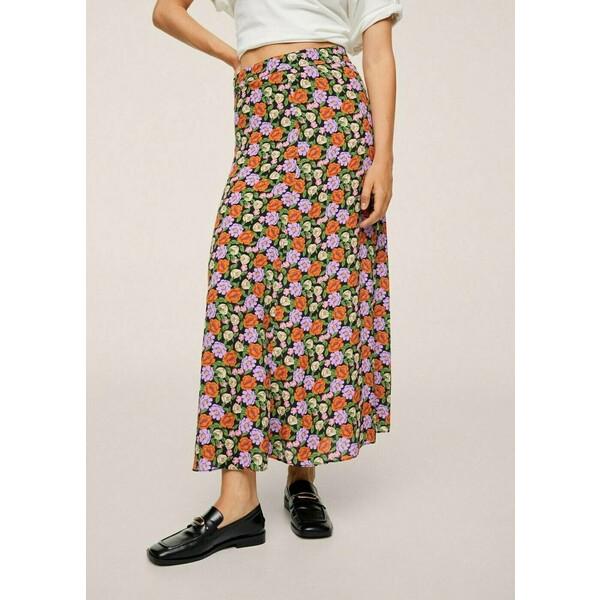Mango Długa spódnica multicolored M9121B1DM