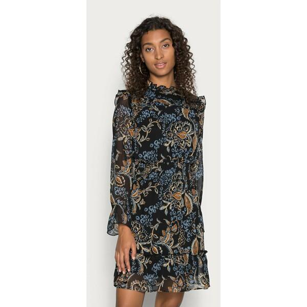 ONLY ONLSKYE SMOCK DRESS Sukienka letnia black ON321C2L5