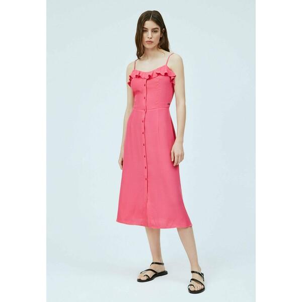 Pepe Jeans SAMY Sukienka letnia dark chicle PE121C0MF