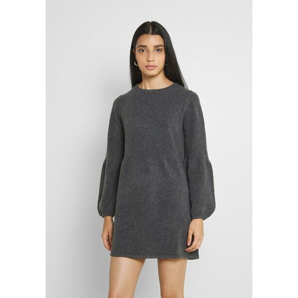JDYBRILLIANT DRESS Sukienka dzianinowa dark grey melange JY121C0MT