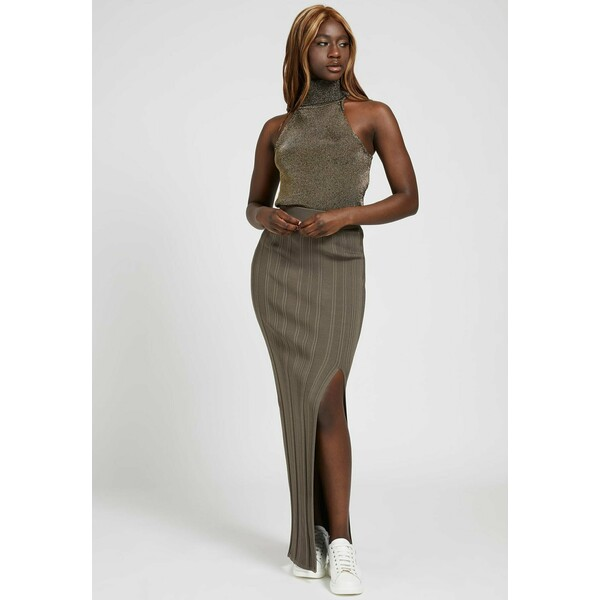 Guess AMALIA Długa spódnica braun GU121B0CE
