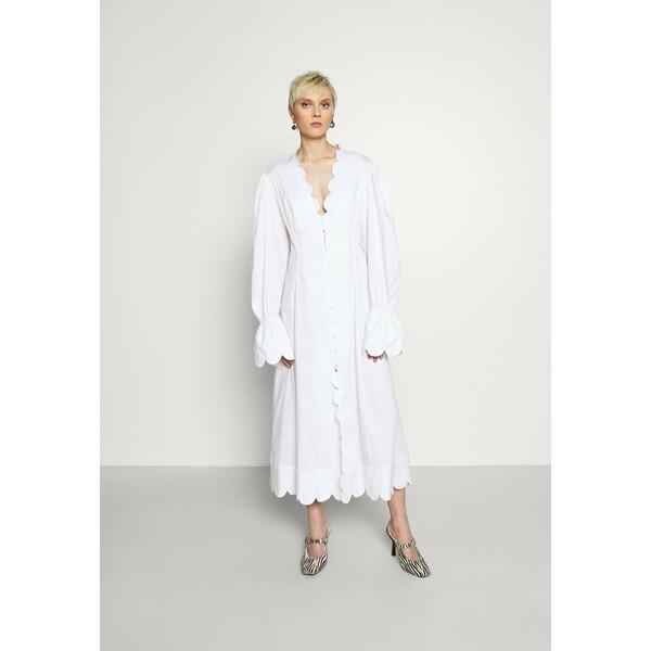 ABODI ODEILLE DRESS Sukienka koszulowa white ABI21C002