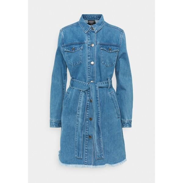 Von Dutch KYRIE Sukienka jeansowa blue denim VD121C001