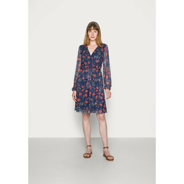 Anna Field PRINTED DRESS Sukienka letnia blue/multi-coloured AN621C1JO