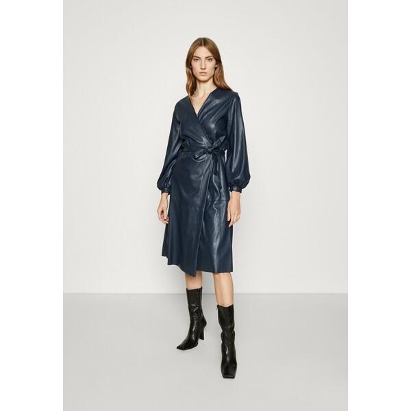 MAX&Co. CONDOR Sukienka letnia midnight blue MQ921C0B3