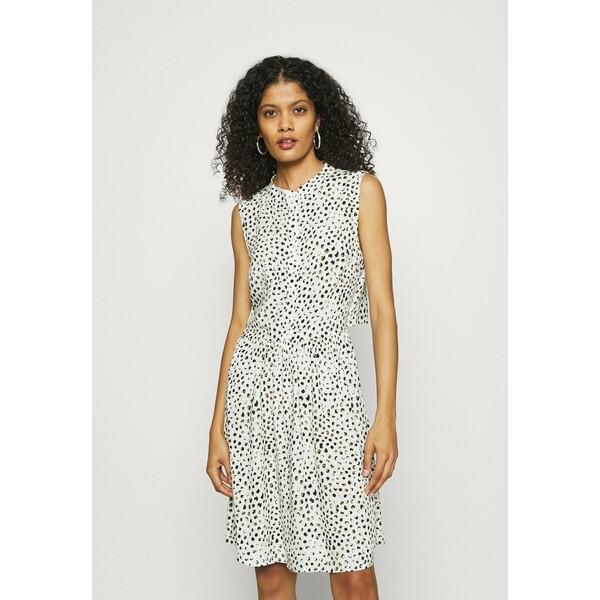 ALIGNE DOMINIQUE Sukienka letnia white/mint ALY21C00J