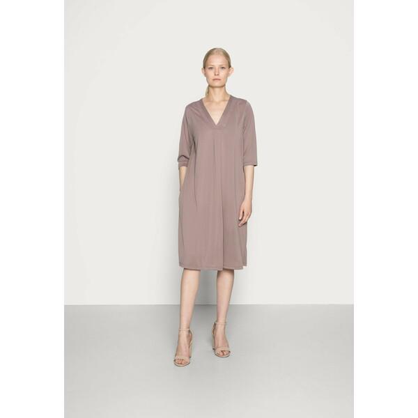 Cream MODALA DRESS Sukienka z dżerseju faded brown CR221C0KY