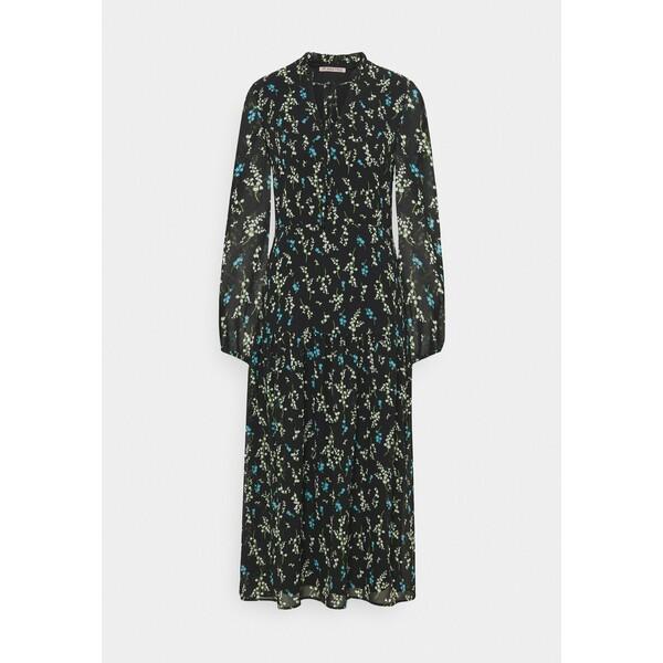 Anna Field VOLANT MAXI DRESS PRINTED Sukienka letnia black/blue AN621C1LJ