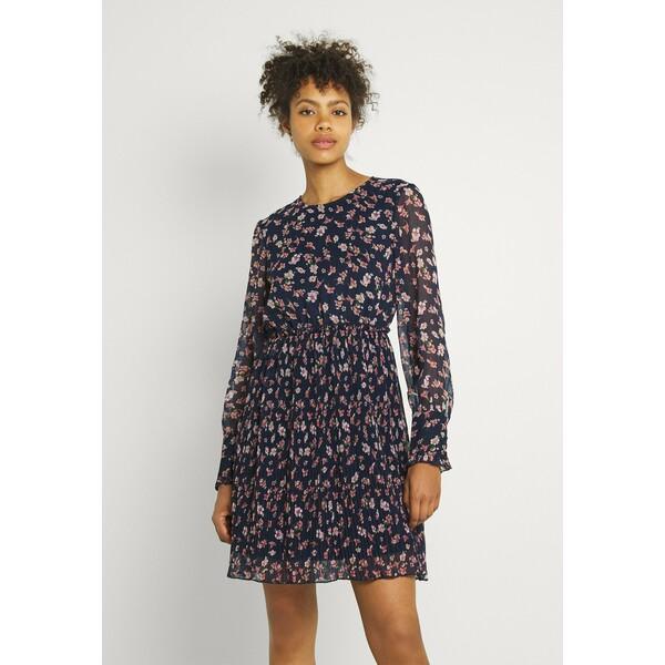 Vero Moda VMWONDA PLISSE DRESS Sukienka letnia night sky/rona VE121C2TO