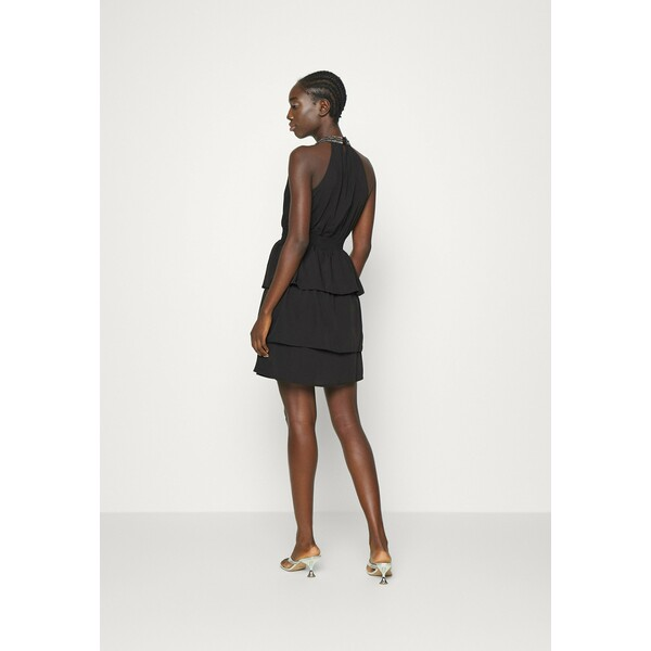 Vero Moda VMCIRKEL SHORT DRESS Sukienka koktajlowa black VE121C308