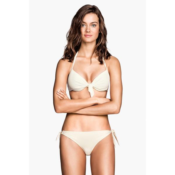 H&M Dół od kostiumu 0184123003 Biały