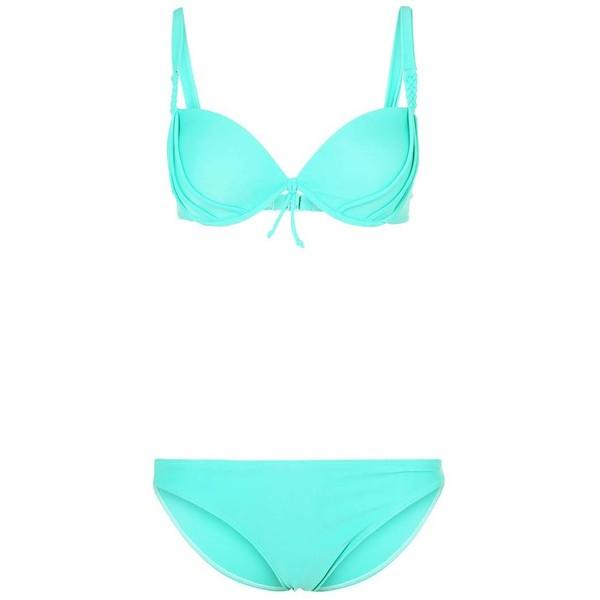 LingaDore BAHAMA Bikini green leaf 1LN41H00I