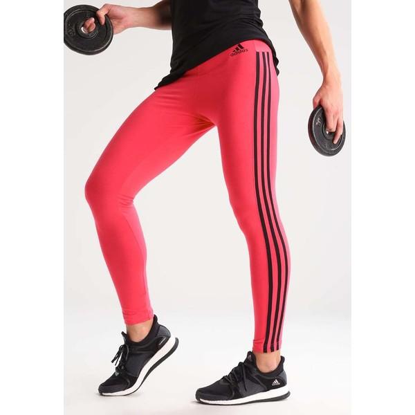 adidas Performance Legginsy core pink/black AD541E0HZ