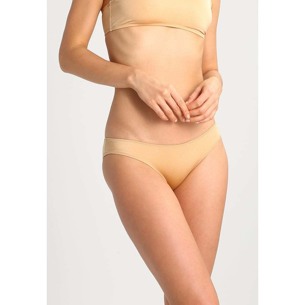 Solid & Striped THE ELLE BOTTOM Dół od bikini shiny gold QS681D010