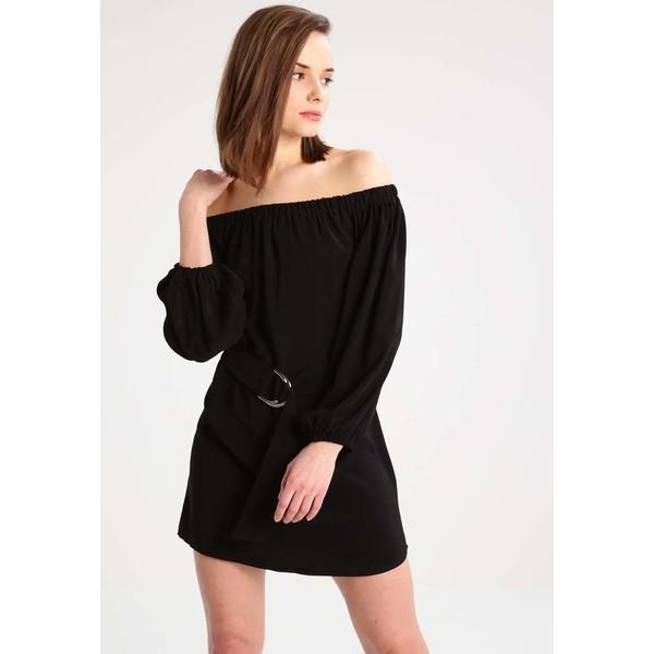 Missguided Petite Sukienka letnia black M0V21C01Y
