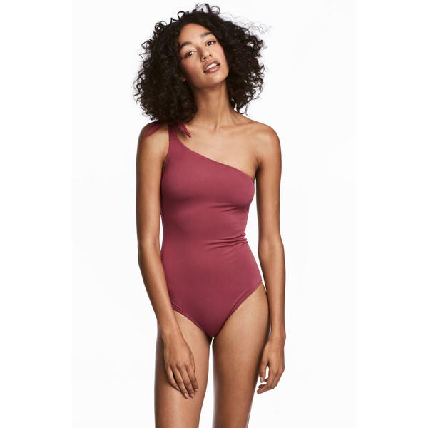 H&M Kostium kąpielowy 0547185002 Ciemnoróżowy