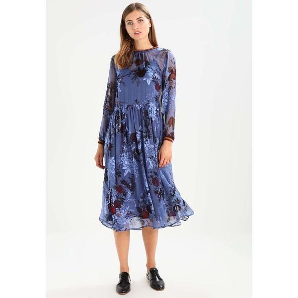 Karen by Simonsen PAINT DRESS Sukienka letnia blue KS821C01E