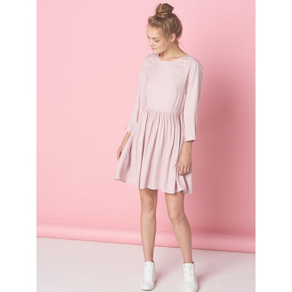 2ff4c66564 Mohito Pudrowa sukienka z wiązaniem na plecach LITTLE PRINCESS SG038-39X ...