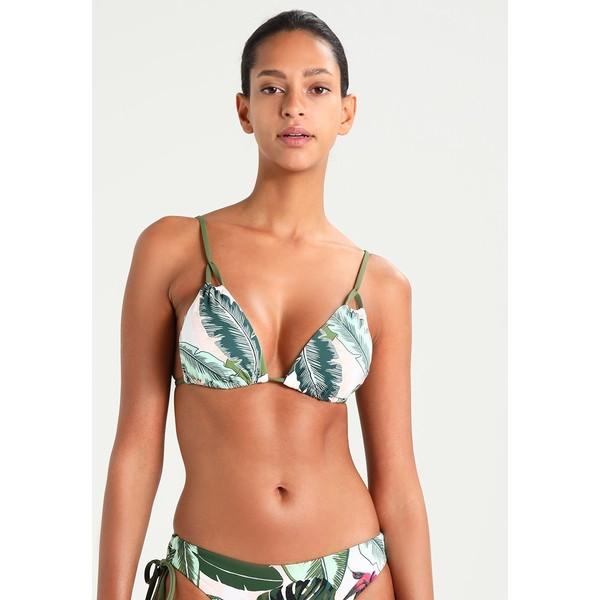 Seafolly PALM BEACH SLIDE TRI Góra od bikini moss S1981J00N