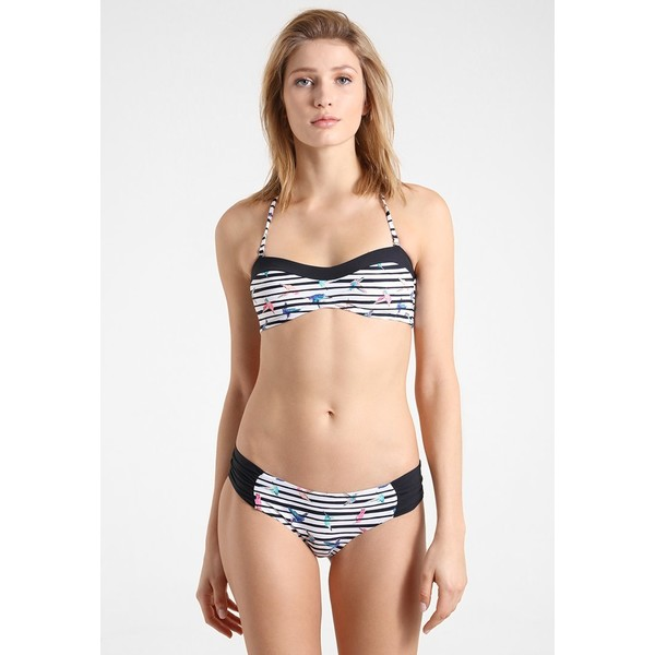 O'Neill PRINT BANDEAU SET Bikini white/pink-purple ON581L00B
