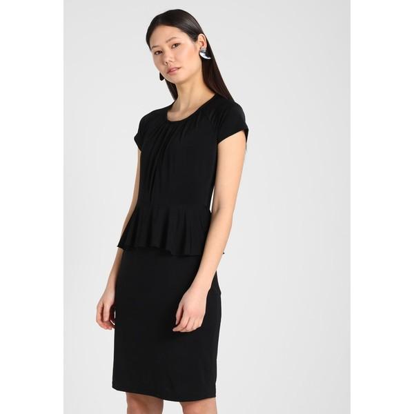 bc32e9016e Carolina Cavour Sukienka z dżerseju black C0P21C00U ...