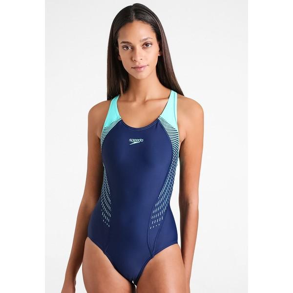 Speedo FIT Kostium kąpielowy navy/spearmint/vita grey 1SP81G01Q