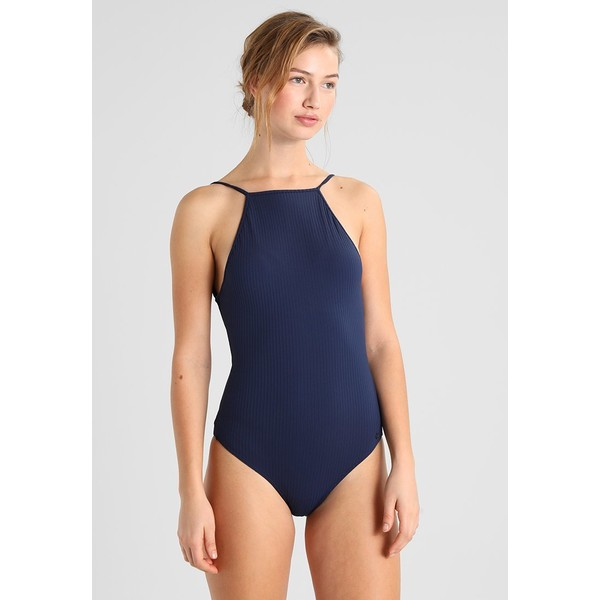 Roxy WAVESONLY ONE Kostium kąpielowy dark blue RO581G002