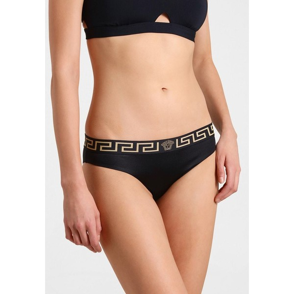 Versace SLIP MARE DONNA Dół od bikini nero 1VE81I000
