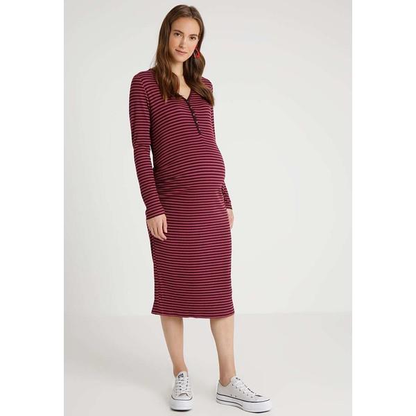 6fed2063f7 GAP HENLEY DRESS Sukienka z dżerseju purple GP029F00Q ...