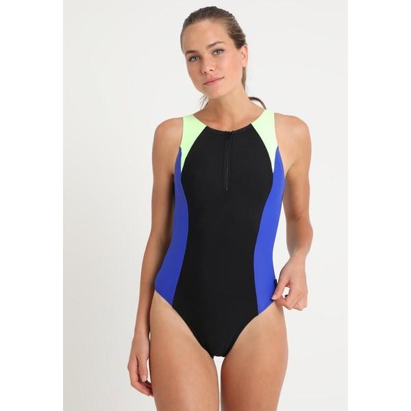 Speedo Kostium kąpielowy black/blue 1SP81G02L