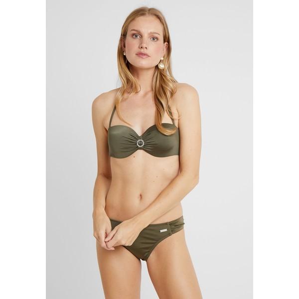 LASCANA WIRE BANDEAU SET Bikini oliv L8381L013