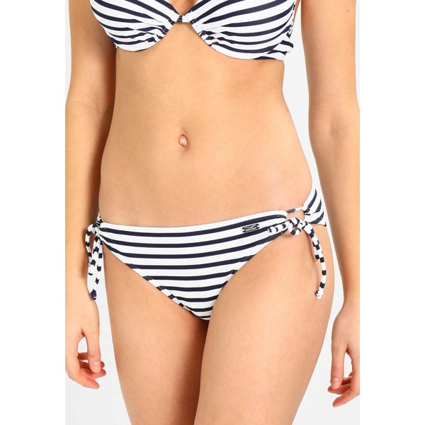 Venice Beach Dół od bikini white/navy 2VE81I002